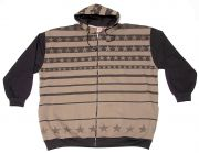 "Hooded Sweatjacket ""Stars"""